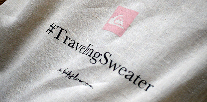#TravelingSweater de Quiksilver Women