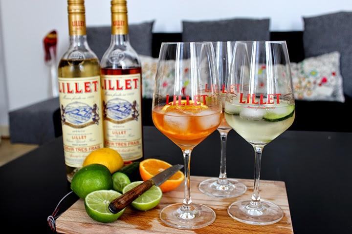 Cocktails frais au lillet bonjour darling for Cocktail lillet