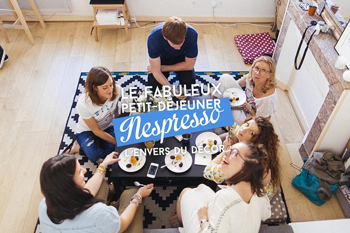 Le fabuleux petit-déjeuner Nespresso : L'envers du décor