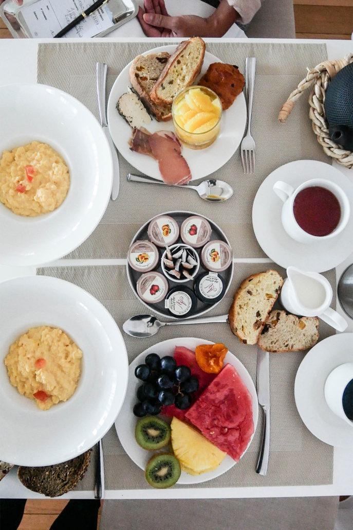 Ajaccio Sofitel Thalassa Sea Spa Breakfast Petit-Dejeuner