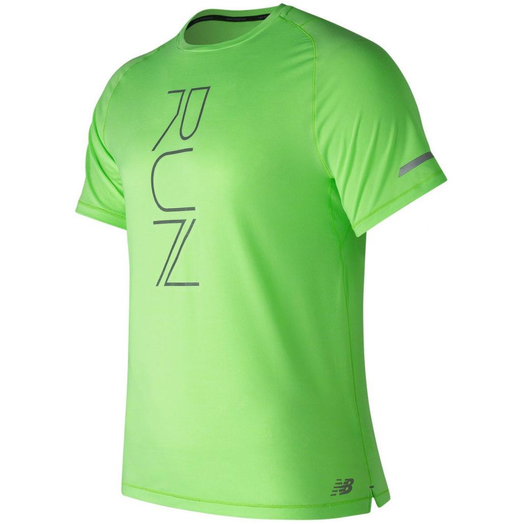 new balance tshirt homme vert
