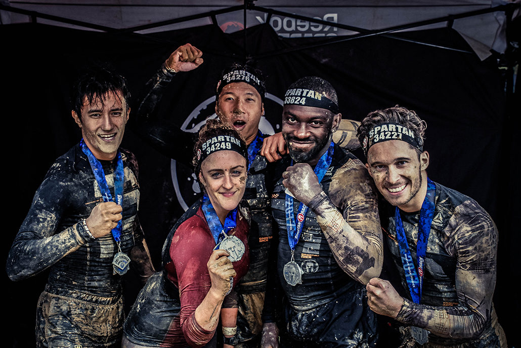 Spartan race Atlantique Super Finisher