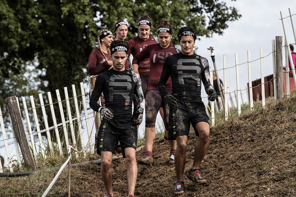 Spartan race Atlantique Super Team Running