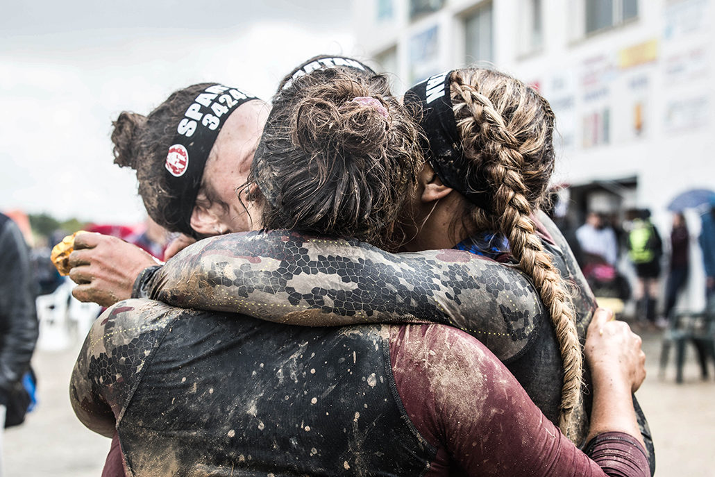 Spartan race Atlantique Super Fille finisher