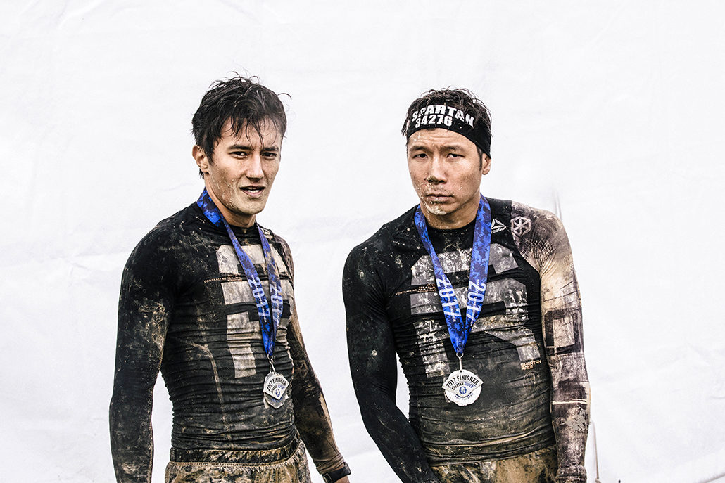 Spartan race Atlantique Super Jigmé William finisher