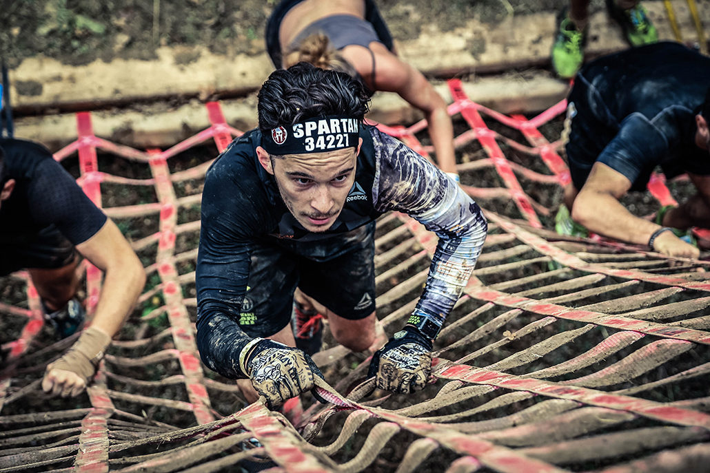 Spartan race Atlantique Super filet spartiate