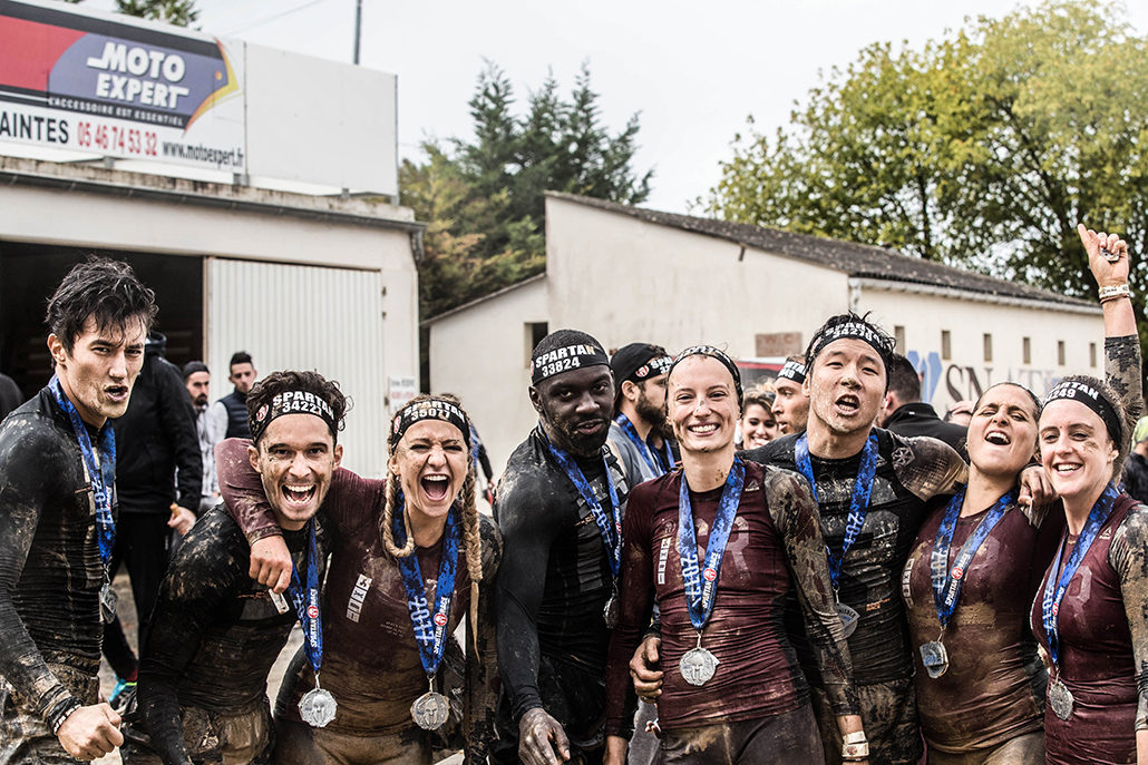 Spartan Race Atlantique Super, Equipe, Finisher