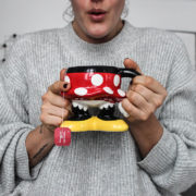 Automme pull mickey tasse tea thé girl minnie