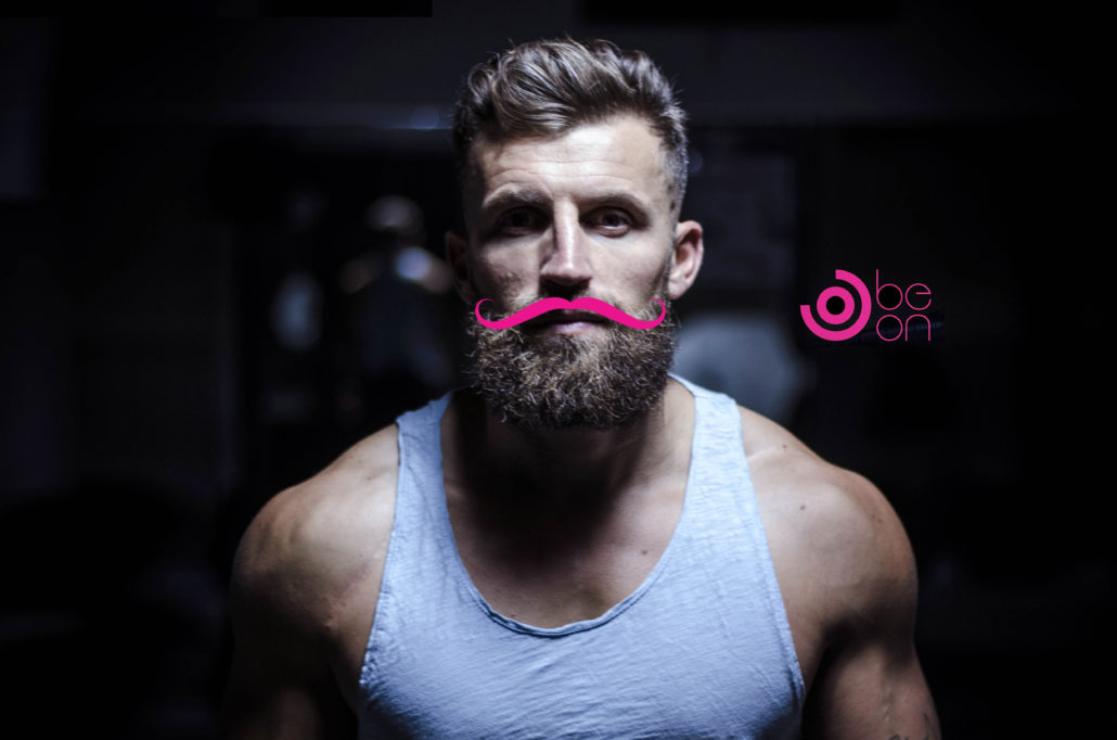 Movember Beon Coaching Coach Bordeaux sport motivation pink moustache