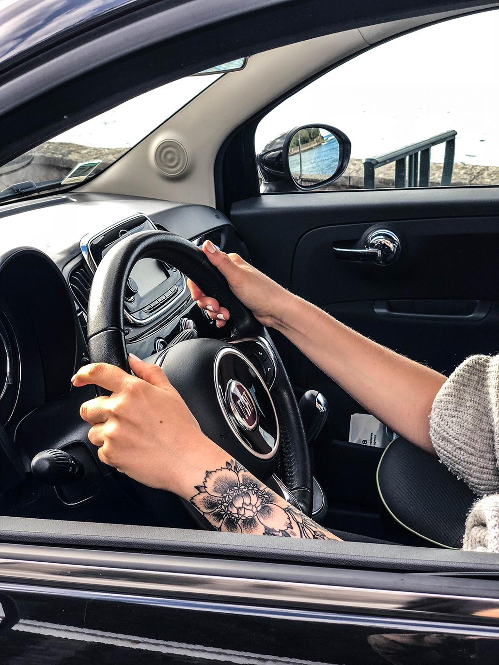 drivy location voiture fiat 500 drive driver conduite bordeaux france tattoo