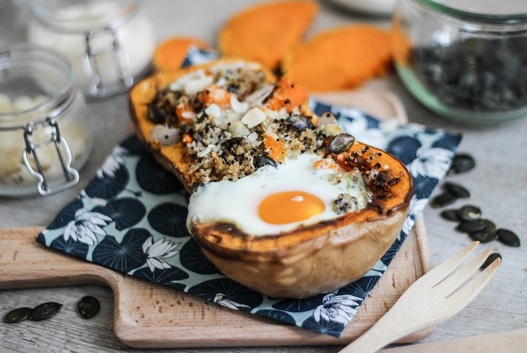 Butternut farcie super gourmand