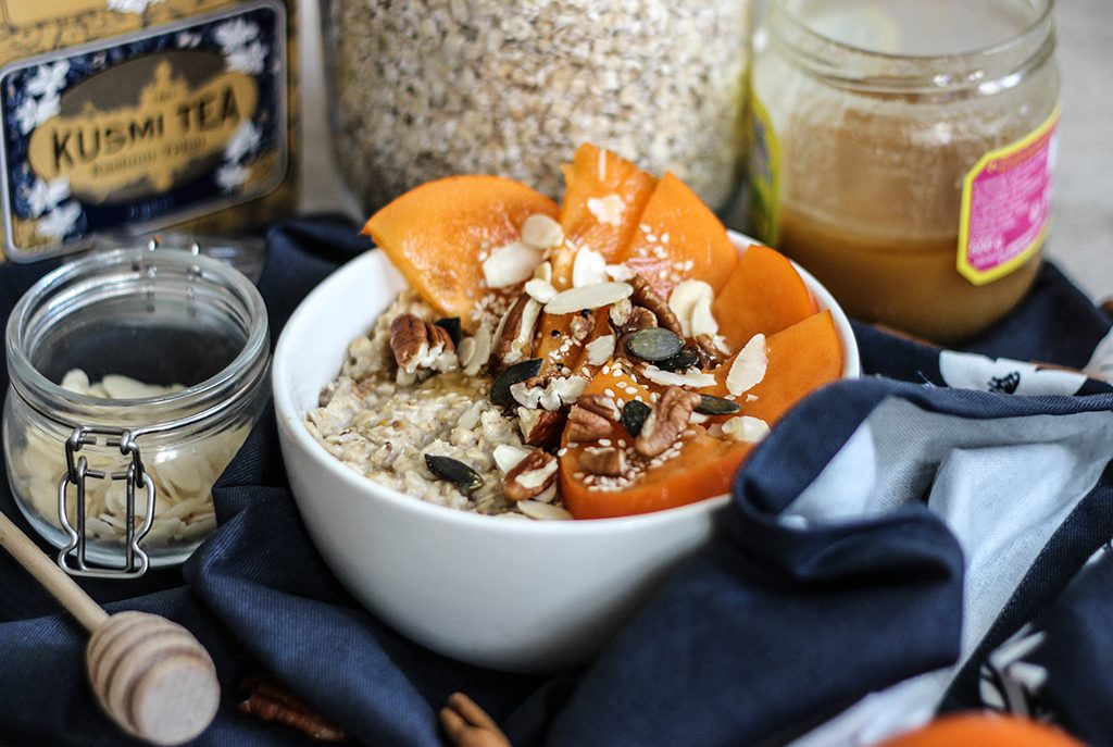 Porridge d'automne façon «Chaï»