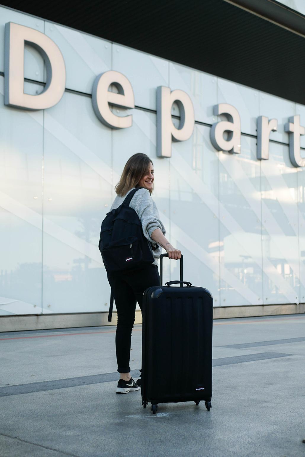 voyage travel trip valise astuces eastpak zalando collab