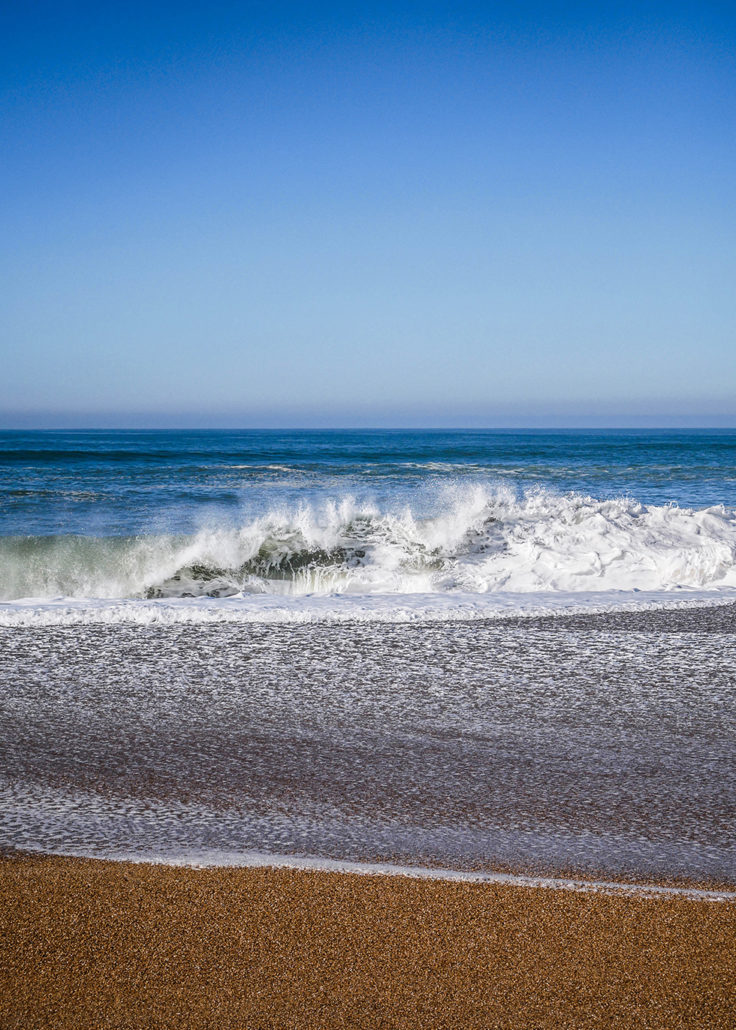 thalasso Plage ocean Anglet Atlantique wave vague