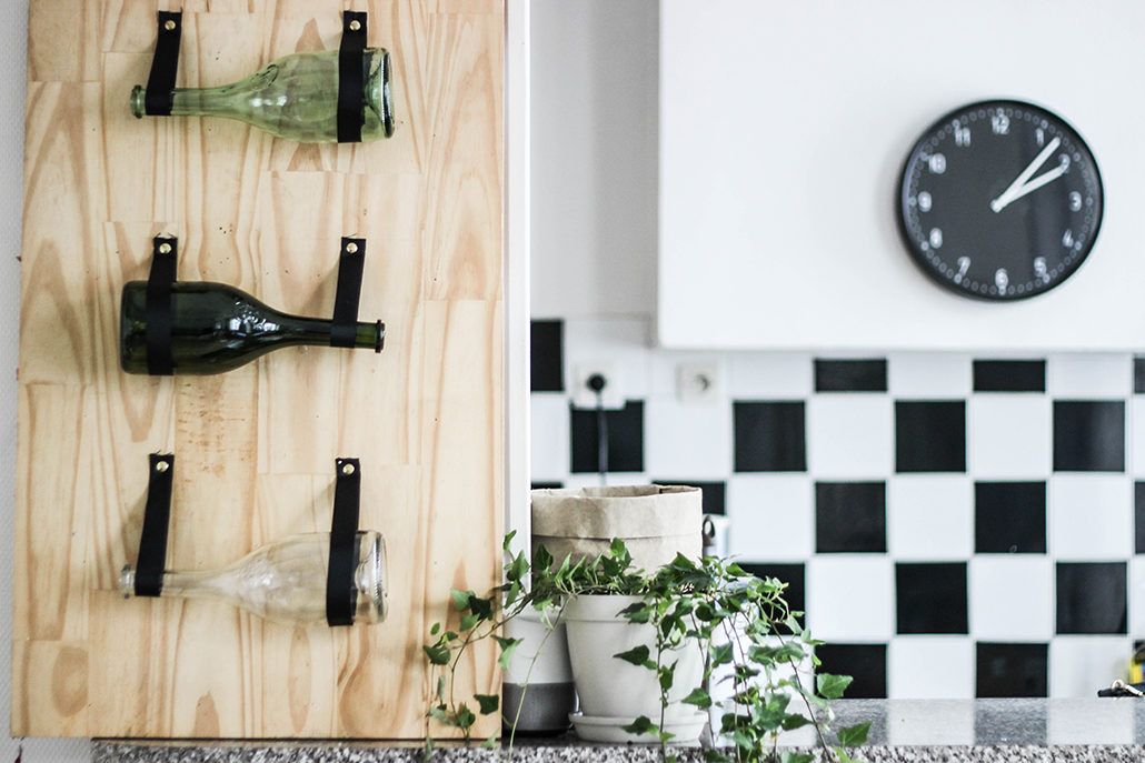 DIY Rangement pour tes bouteilles de vin - Bonjour Darling
