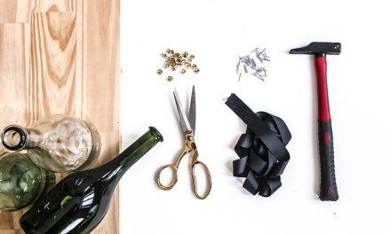DIY Rangement pour tes bouteilles de vin
