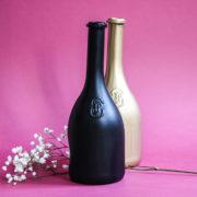 DIY tutoriel loisir créatif bouteille de vin JP CHenet vase fleur hobby déco