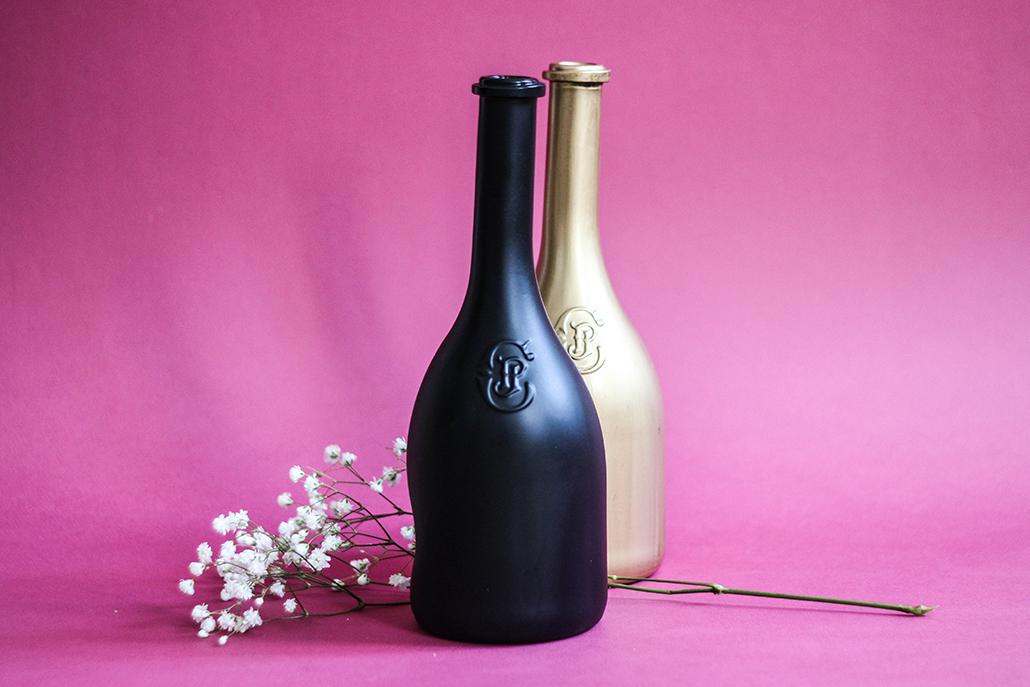 DIY Transforme ta bouteille de vin en vase