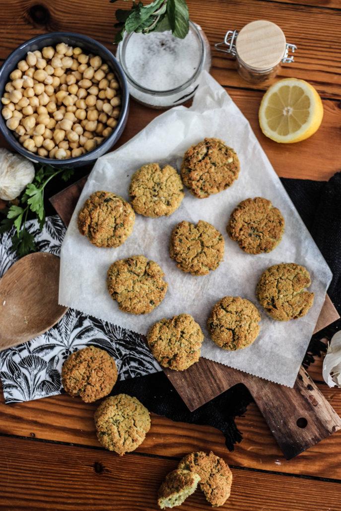 Falafal recette recipe food cuisine cooking healthy blog facile préparation cook pois chiche herbes maison homemade
