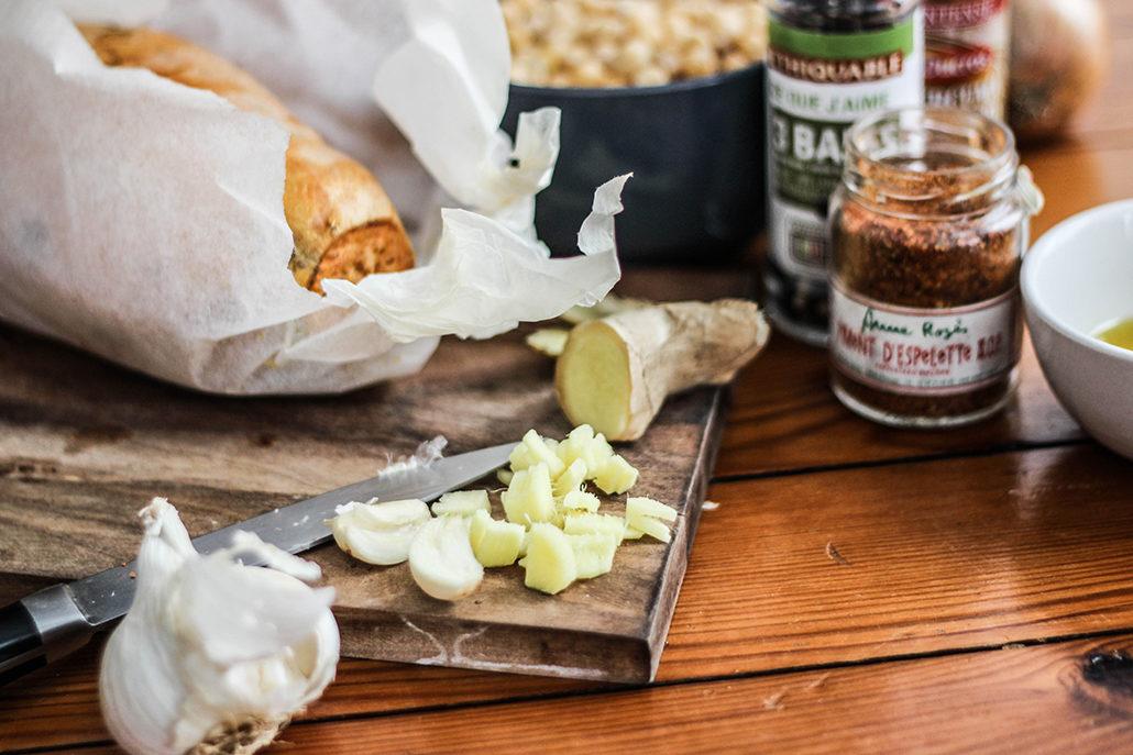 recette houmous patate douce recipe easy facile healthy pois chiche delice ingrédients préparation