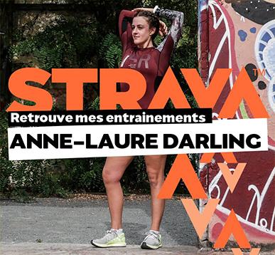 Suivez Anne Laure sur Strava avec anne-laure darling