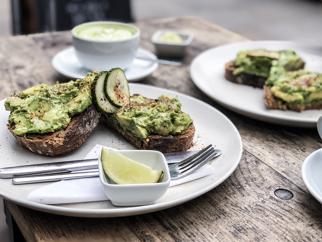 Store St. Espresso Café Coffee Londres London Breakfast Avocado Toast Matcha Latte Morning