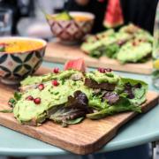 Kitchen garden restaurant végétarien veggie déjeuner lunch vegan Bordeaux centre avocat Avocado toast bonne adresse healthy sain