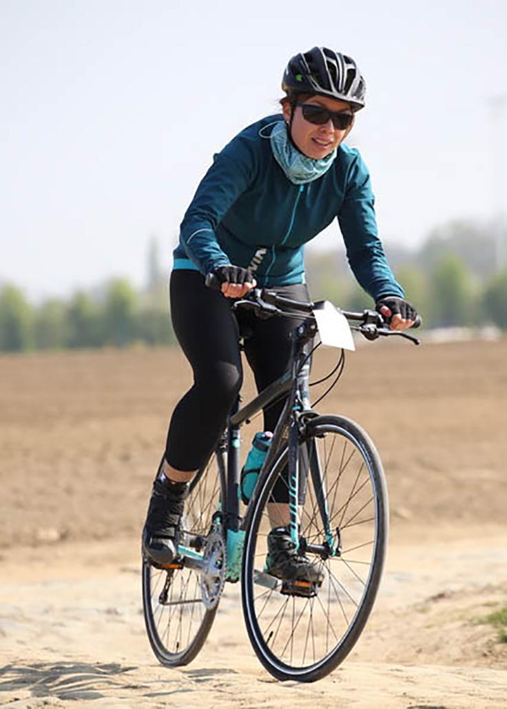 marie motivation sport sportive running course à pied triathlon vélo sourire détermination #moveyourpeach