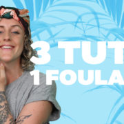 tuto coiffure DIY do it yourself hairstyle foulard tutoriel facile easy style