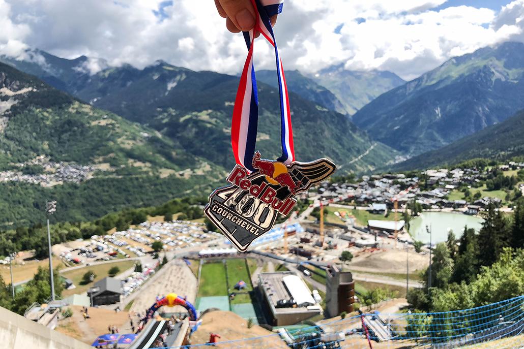 RedBull Red Bull RedBull400 400 course race montagne alpes Courchevel evenement finisher