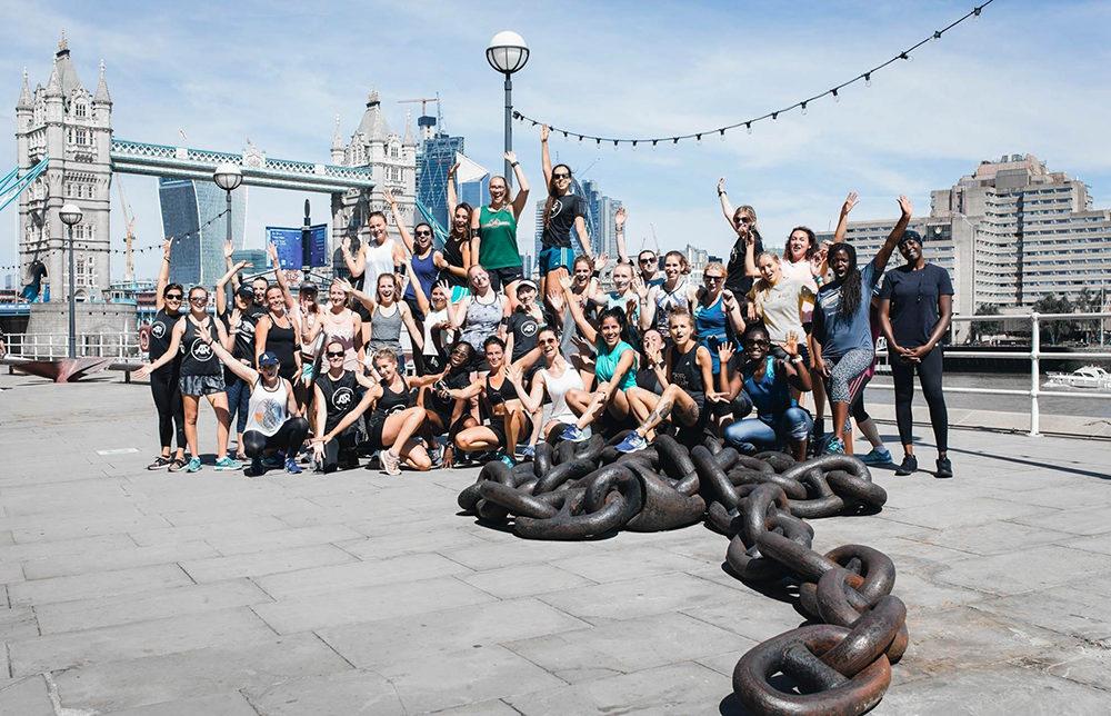 Adidas London Studio Fitness Training Runners Entrainement course à pied HIIT Londres gratuit sport free shoreditch bricklane brick lane Femme women here to create