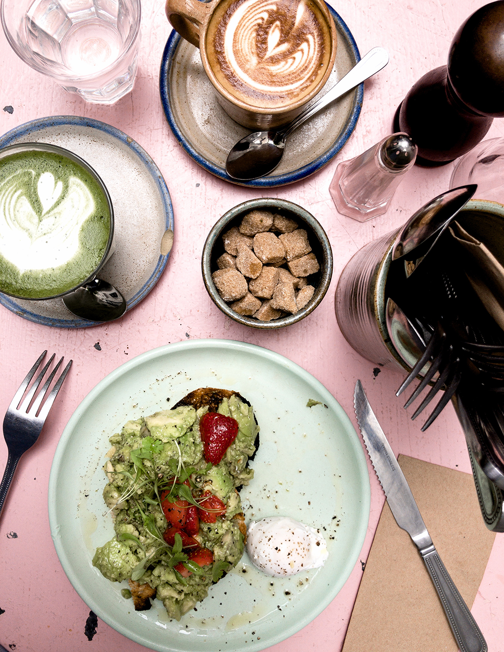 Avocado Toast Londres London bonnes adresses lunch dejeuner test avis