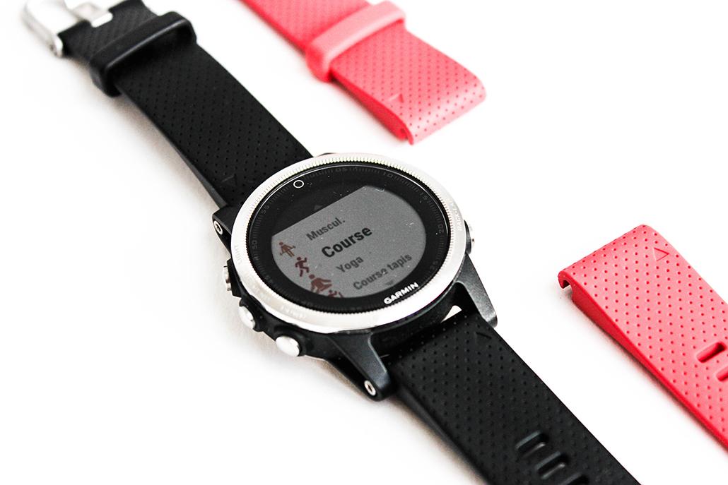 gamin montre running smartwatch avis fenix 5S multisport watch
