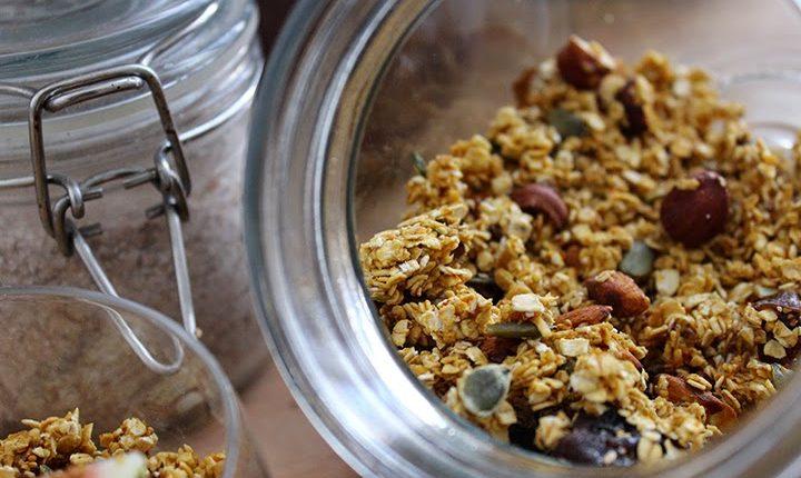 granola breakfast petit-dejeuner maison recette recipe healthy