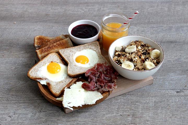 granola breakfast petit-dejeuner maison recette recipe healthy brunch