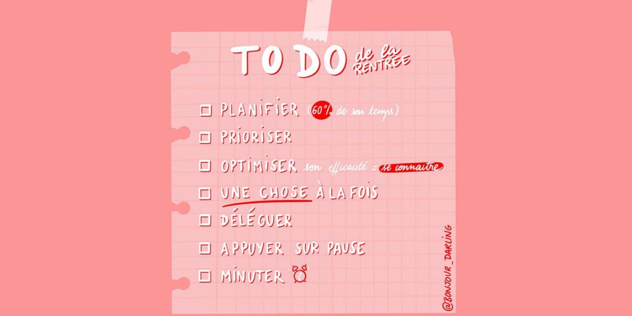 Gérer son temps et s'organiser