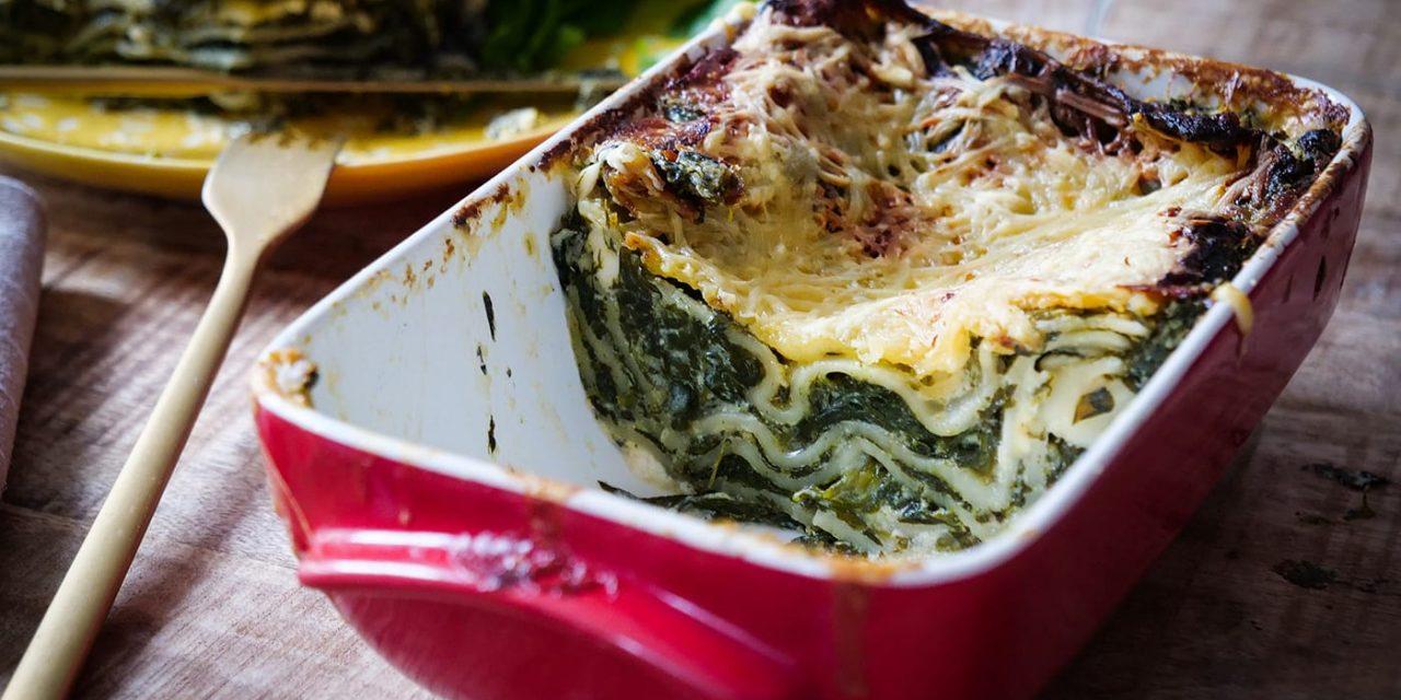 Lasagnes végétariennes – Épinard et feta