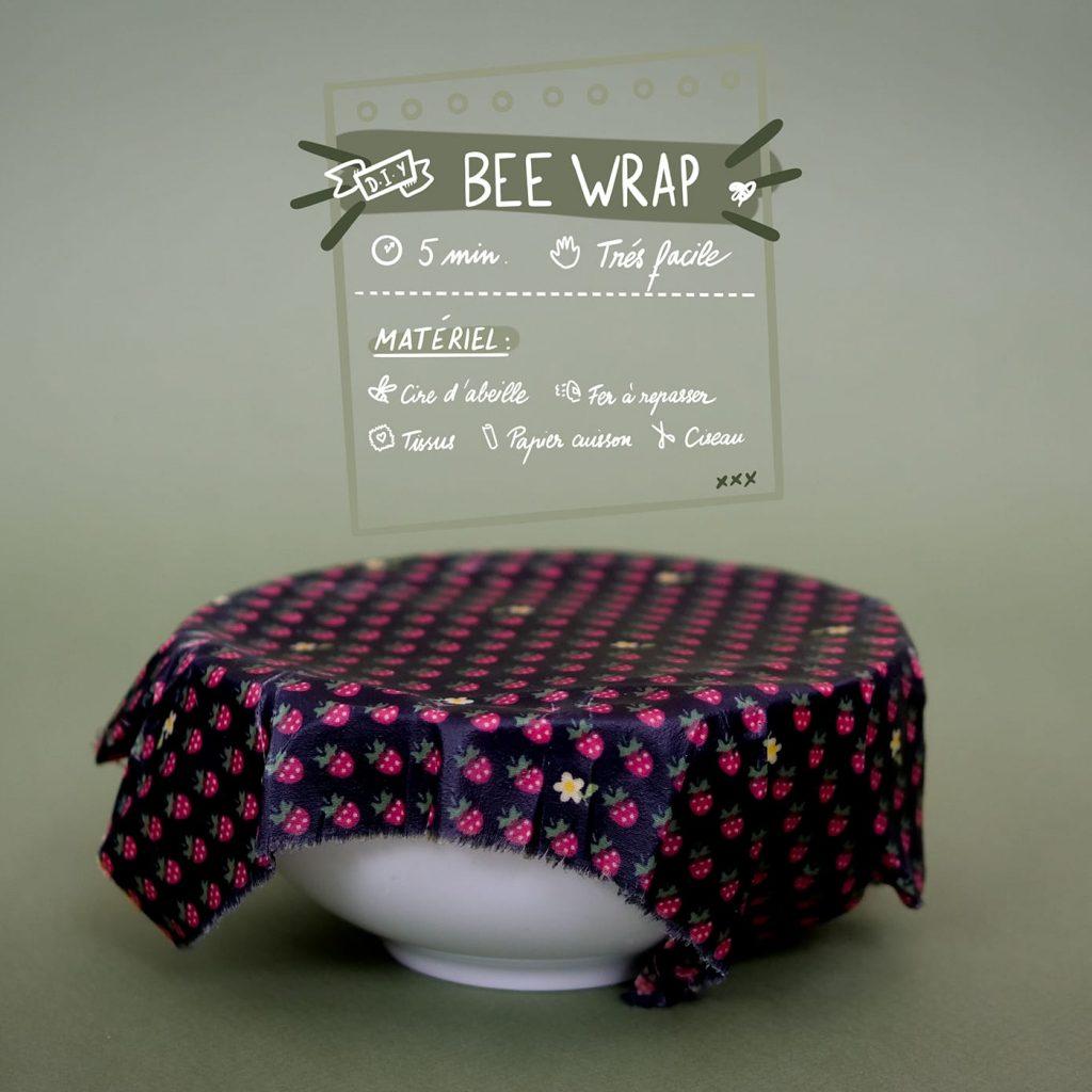 DIY – Fais un Bee-Wrap