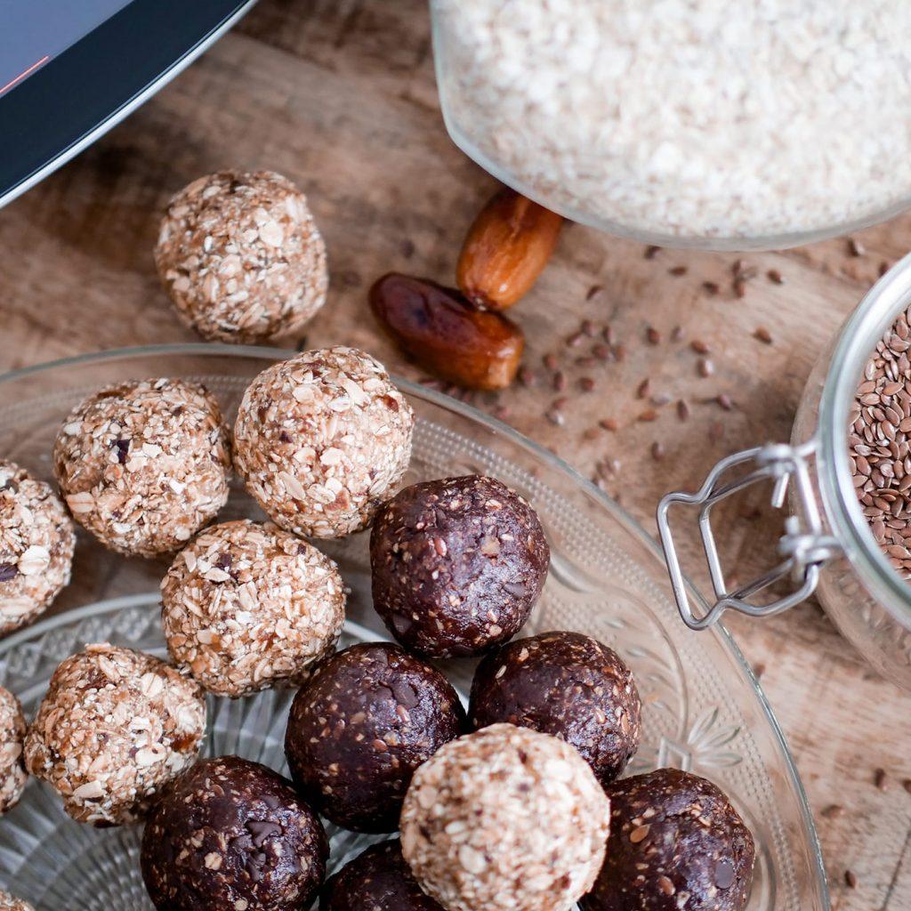 Boules énérgétiques avec Cookit de Bosch