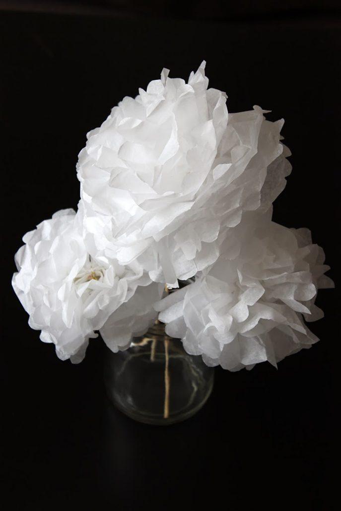 diy bouquet de fleurs en papier bonjour darling. Black Bedroom Furniture Sets. Home Design Ideas