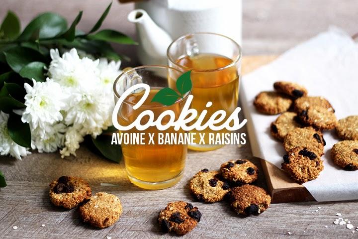 Cookies «3 ingrédients» délicieux & légers