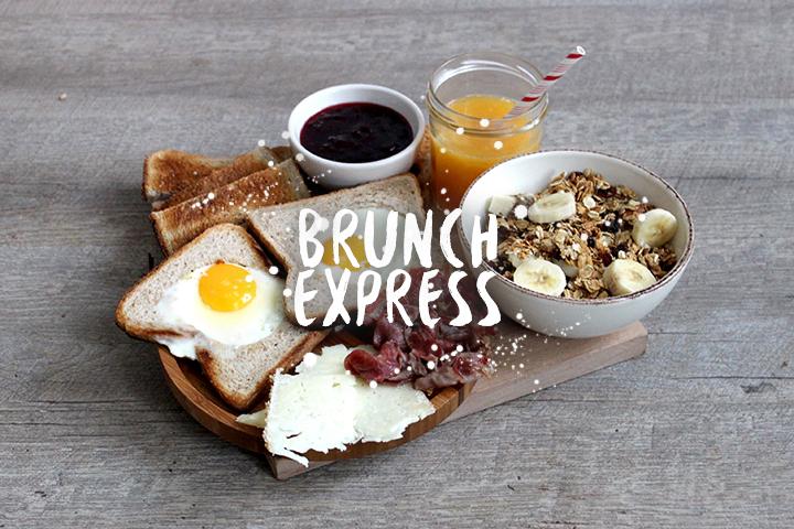 Brunch express 100% maison