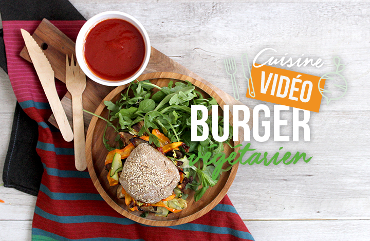 Veggie burger avec steak Cereal