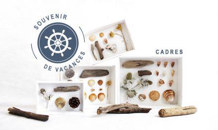 DIY Cadres souvenirs de vacances