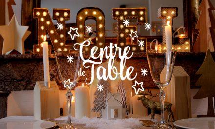 Mon joli centre de table de Noël
