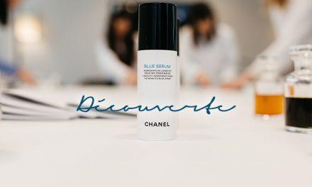 À la découverte du Blue Serum et Chanel