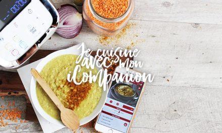 Recette curry aux lentilles corail avec le iCompanion (Dhal)