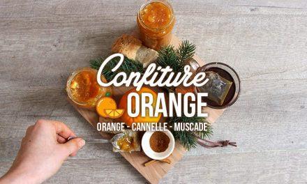 Confiture d'oranges aux épices