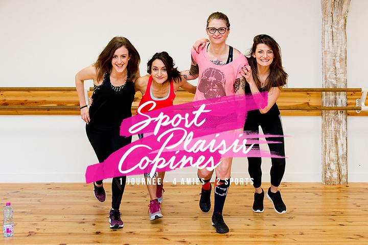 Sport, plaisir et copines