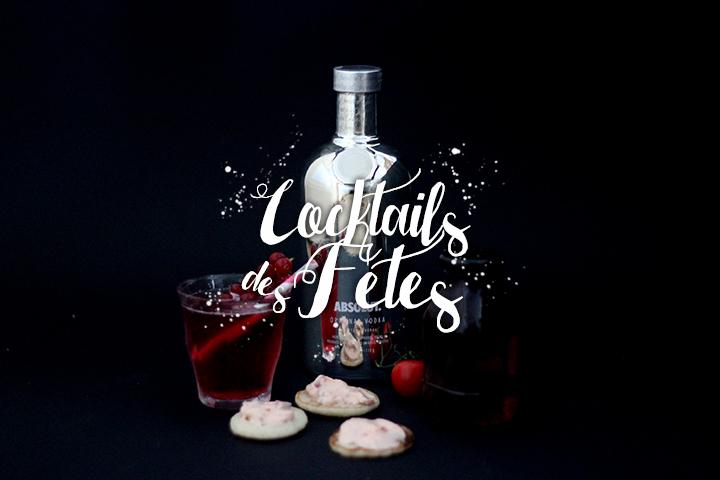 Cocktails des Fêtes #1 : Le cosmo